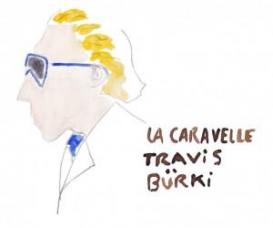 Travis Burki pochette album La Caravelle
