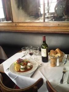 Votre repas au sein du bar-restaurant la Caravelle
