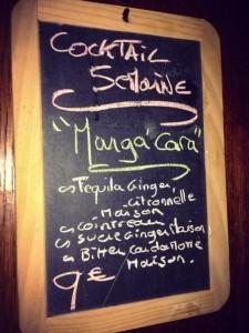 Les propositions de Cocktail de la Caravelle, pour varier de l'éternel Mojito !