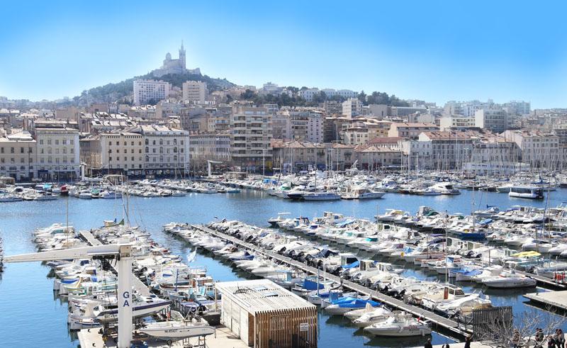 Belle vue vieux port de marseille la caravelle marseille - Restaurant italien marseille vieux port ...