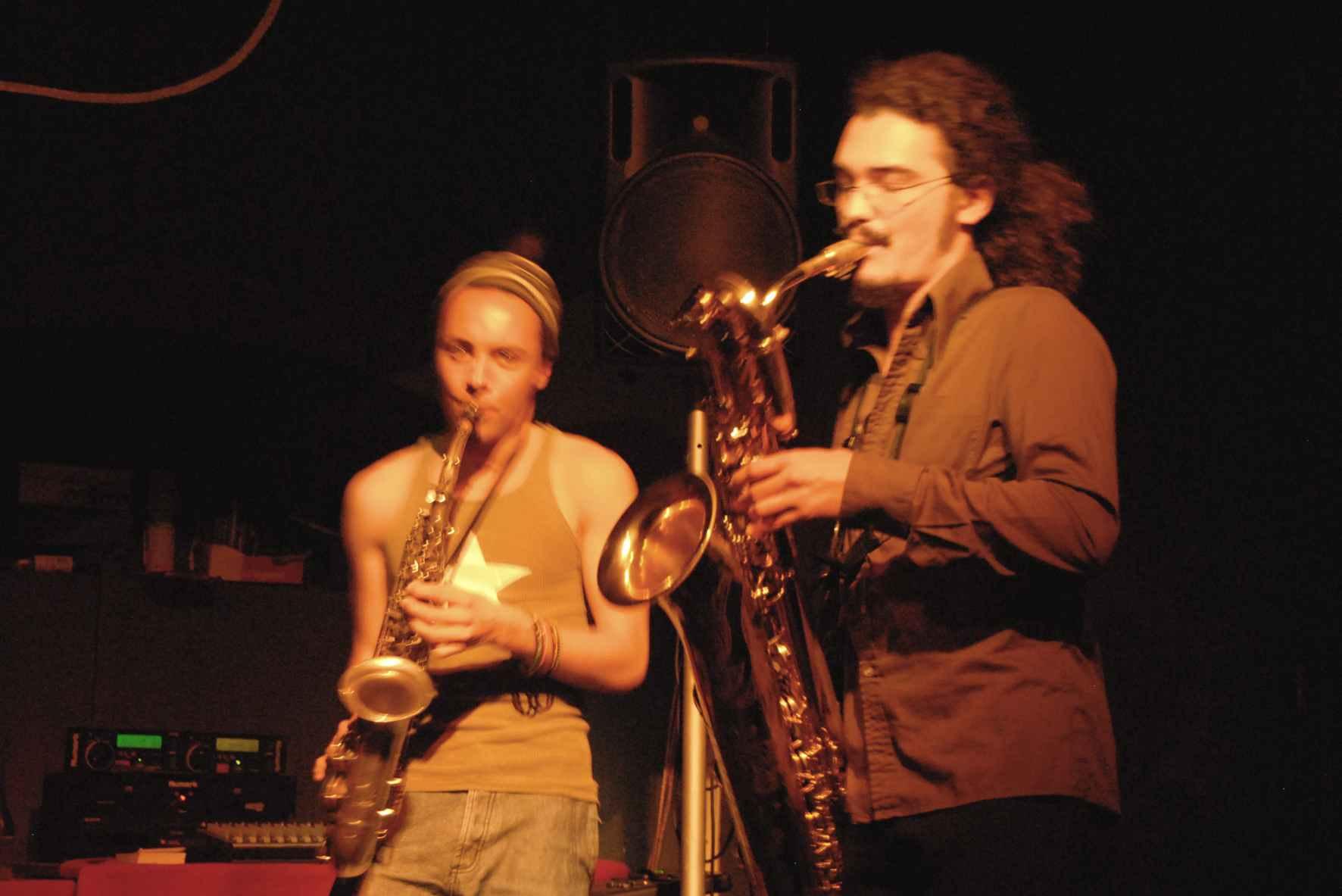 Trio Tentik Fabien Genais et Alex Barette
